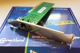 Tarjeta de red PCI 10/100 Connectland - foto