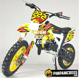 MINIMOTO CROSS 49CC KXD 706 FINANCIADO - foto