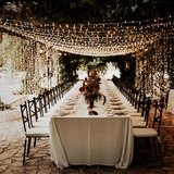 iluminación para eventos , bodas - foto