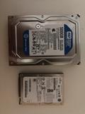 HDD 500GB Y 80GB - foto