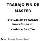 TRABAJO FIN DE MÁSTER (TFM) PRL - foto