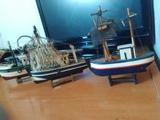 Maquetas de barcos. de pesca - foto