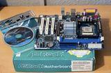 Placa base PIV + Procesador 3GHZ - foto