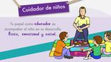 Cuidador infantil titulado - foto