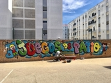 arte decoracion juegos ninos graffiti - foto