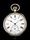 Reloj de bolsillo antiguo suizo - foto