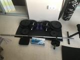 190 euros - kit de pesas + extras - foto