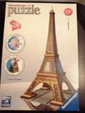 Puzzle 3d torre eiffel - foto