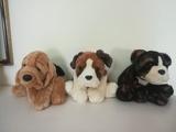Colección de 7  perritos de peluche. - foto