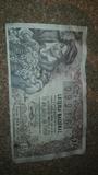 billete de loteria 1945 - foto