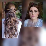 peluquera maquilladora novias y madrinas - foto