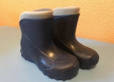 botas de agua cálidas niño - foto