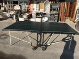 Mesa Ping Pong 274x153x77 plegable inter - foto