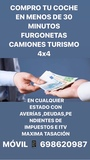COMPRO FURGONETAS CAMIONES 4X4 COCHES - foto