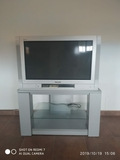 televisor con mueble - foto