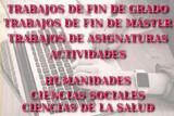 REDACTO TRABAJOS DE ASIGNATURAS,  TFG/TFM - foto