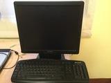 Monitor y teclado - foto