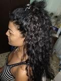 peluquera latina - foto