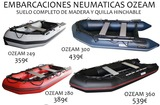 EMBARCACIÓN NEUMÁTICA OZEAM - foto