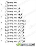 Anagramas 911 Carrera - foto