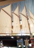 Barco de madera atlantic usa - foto