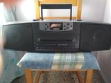 Radiocasette con cd de la marca Philips - foto