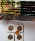colección monedas historia de holanda. - foto