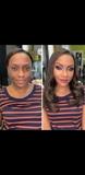 peluquera maquilladora fiestas domicilio - foto