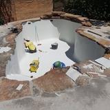 ConstrucciÓn de piscina gunitada - foto