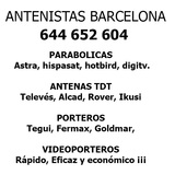 Antenistas Barcelona - foto