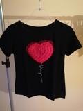 Camiseta corazón - foto