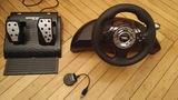 Volante con pedales Speed Racing - foto