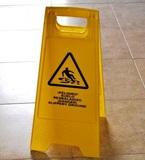 Caballete Advertencia Suelo Mojado - foto