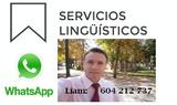 Traductor/editor nativo inglÉs guipúzcoa - foto