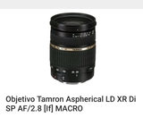 Nikon objetivo tamron aspherical - foto