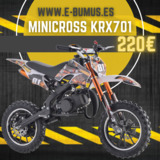 KRX - MINI MOTOCROSS 49CC INFANTIL - foto