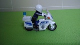 Moto policía 5185 playmobil - foto