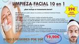 limpieza facial 10 en 1, por 19 EUROS!!! - foto