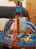 Barco pirata bob esponja - foto