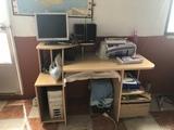 Mesa de escritorio completa y sillon - foto