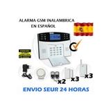 kit alarma GSM con 3 magnético y 3 PIR - foto