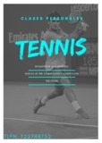 Entrenador de tennis - foto