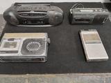 Lote de 5 radios vintage - foto