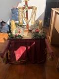 paso de madera de Semana Santa - foto