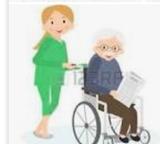 Niñera y cuidadora de personas mayores - foto
