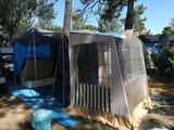 Remolque tienda de camping - foto