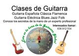 CLASES DE GUITARRA ESPAÑOLA ELECTRICA - foto