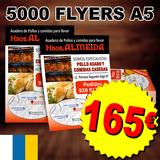 5000 flyers a5 barato - foto