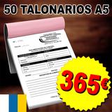 50 Talonarios Albaranes A5 BARATO - foto
