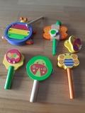 Instrumentos madera infantiles - foto